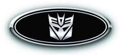 "2015 F150 3PC Kit  Transformers ""Decepticon"" Overlay Emblem Decal W/Camera #DSRA"