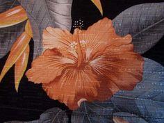 cefeb81d3 Details about Tommy Bahama Floral Bird Of Paradise Hibiscus XL Silk Blend Hawaiian  Aloha Shirt