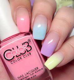 Gradient Nails, Pastel Nails, Red Nails, Hair And Nails, Acrylic Nails, Red Nail Designs, Dope Nails, Fabulous Nails, Nails Inspiration