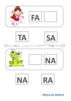 Indovina la sillaba giusta worksheet School Subjects, Preschool Worksheets, Your Teacher, Web Browser, Google Classroom, Colorful Backgrounds, Activities For Kids, Homeschool, Student
