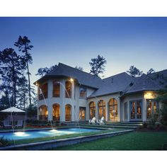 UltimatePlans.com : Home Plans - House Plans & Home Floor Plans - Find... ❤ liked on Polyvore featuring house
