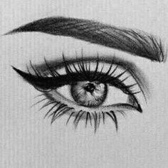 Amazing Learn To Draw Eyes Ideas. Astounding Learn To Draw Eyes Ideas. Art Drawings Sketches Simple, Amazing Drawings, Pencil Art Drawings, Cool Drawings, Eye Drawings, Eye Pencil Drawing, Realistic Eye Drawing, Drawing Eyes, Art Du Croquis