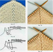 Knitting Decrease Stitches Evenly Calculator : 1000+ images about Decrease, increase on Pinterest Knitting help, How to kn...