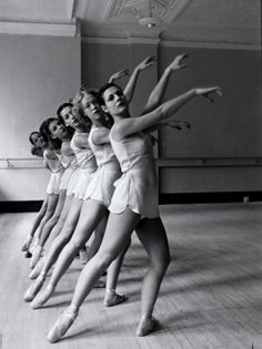 George Balanchine's School of American Ballet, 1936.  Photo: Alfred Eisenstaedt.