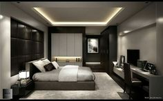 Bedroom Setup, Room Design Bedroom, Luxury Bedroom Design, Bedroom Furniture Design, Home Room Design, Small Room Bedroom, Ceiling Design Living Room, Bedroom False Ceiling Design, Huge Master Bedroom