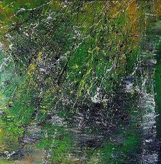 Geïnspireerd door de natuur, schilderij van Pouw art, Franky Pouw   Abstract   Modern   Kunst