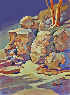 """PAINTING PROCESS – """"SLEEPING GIANTS"""" 