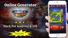 Mobile Legends Hack No Human Verification No Survey? Mobile Legends Hack Tools — No Verification — Unlimited Diamonds (Android and Ios) Mobile Legends Hack Cheats! Cheat Online, Hack Online, Legend Mobile, Moba Legends, Episode Choose Your Story, App Hack, Iphone Mobile, Free Gems, Mobile Game