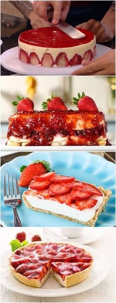 TORTA DE MORANGO AO CHAMPAGNE,  UMA DELÍCIA EXPERIMENTE!!! VEJA AQUI>>>Em uma vasilha grande colocar o leite condensado, o creme de leite, o suco de limão a gelatina, #receita#bolo#torta#doce#sobremesa#aniversario#pudim#mousse#pave#Cheesecake#chocolate#confeitaria