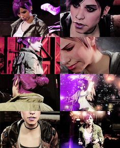 inFAMOUS: First Light and second son Fetch (Abigail Walker)