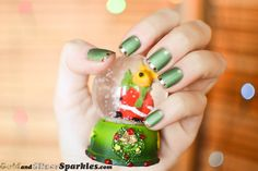 Inspiration on Let your creativity loose Bellas.xoxo by Saje Sandhu. Check out more Inner Beauty on Bellashoot. Holiday Nails, Christmas Nails, Christmas Lights, Hair And Nails, My Nails, Matte Nail Polish, Beauty Review, B & B, Etiquette