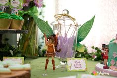 Tinkerbell birthday party   CatchMyParty.com