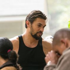 he is ruggedly handsome Jason Momoa Shirtless, Jason Momoa Aquaman, Lisa Bonet, Tv Show Music, Raining Men, Old Women, Movie Stars, Actors & Actresses, Sexy Men