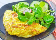 Greek omelette/Kreikkalainen munakas