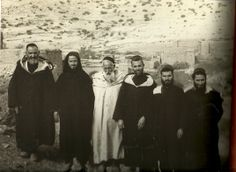 1953. Foun Djamaa, Middle Atlas. Representatives of the Jewish community.