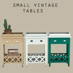 Leo Sims - Small vintage table for The Sims 4