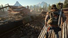 """The new zombie apocalypse game for PlayStation 4 """"Days Gone"""" looks horrifying but gorgeous Games For Playstation 4, Ps4 Games, Xbox, Last Of Us, Zombies, Days Gone Pc, Survival, Cgi, Zombie Apocalypse Game"""