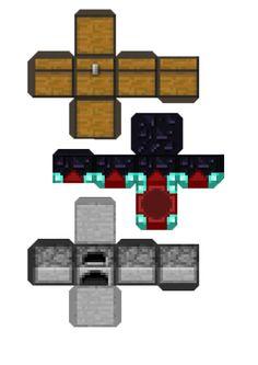 Minecraft Papercraft Miniatleastblogspotcom  Bahul Horno cakepins.com