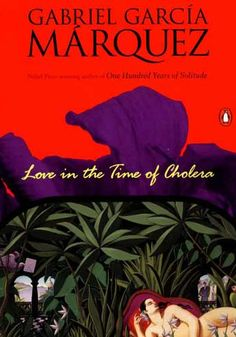 "Love in the Time of Cholera    ""It was inevitable: the scent of bitter almonds always reminded him of the fate of unrequited love.""    -due for a reread, lovvved this when it first came out"