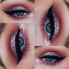 what do you blend silver eyeshadow with?