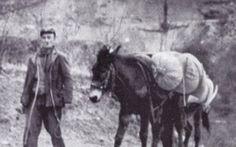 """Oliviero Mancini il """"re"""" dei mulattieri.Quattro volte a piedi il giro della Terra #garfagnana #storia #mulattieri"""