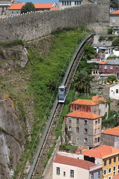 Guindais ascensor, Oporto, Portugal