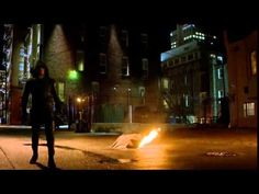 The flash :flash vs arrow fight - YouTube