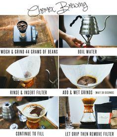How To Brew Chemex