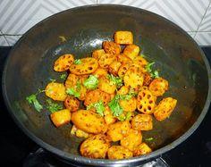 Veg Indian Good Food Recipes..: Kamal kakdi Pakoda | Bhee pakoda | Lotus Root Stem Fritters