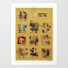 ARTitecture Art Print