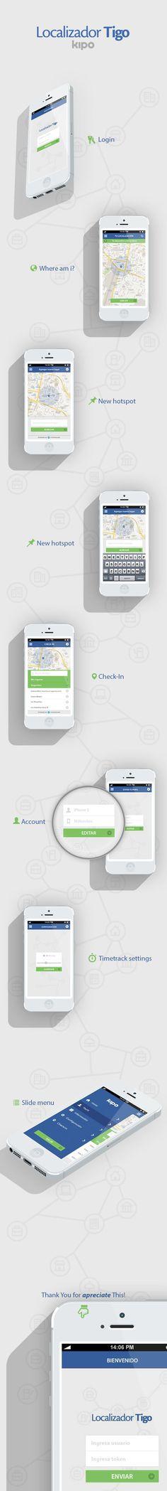 #tigo app #ui #ux mobile design.