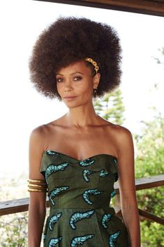 Cultured Style --- Thandie Newton for New African Woman Magazine