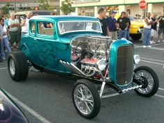 32 Ford 5-Window Custom Coupe, Gasser!