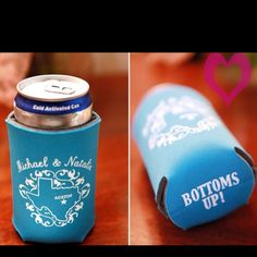 Pin For Pinterest Wedding Boquette Koozies Wishes