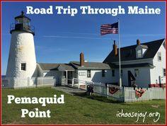 Road Trip through Maine Pemaquid Point