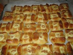 Greek Desserts, Greek Recipes, Greek Cookies, Hot Dog Buns, Waffles, Recipies, Food And Drink, Bread, Snacks