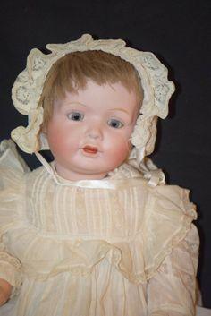 Antique Doll Morimura BIsque Baby Toddler