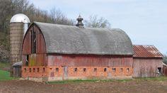 Jackson County Barns, Iowa.