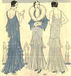 1930s #fashion #illustration