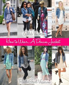How to Wear… A Denim Jacket