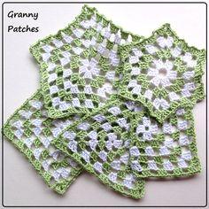 granny patches  - tutorial e schemi su www.gomitolorosso.it