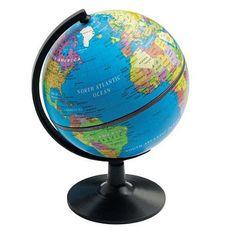 Cheap globe to paint