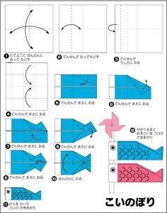 折り紙・こいのぼり