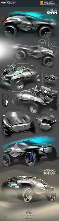 GAEA|OFF-ROAD CONCEPT in Winners announced: CDN - GM Interactive Design…