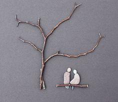 pebble art - so cute!