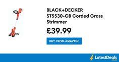 BLACK+DECKER ST5530-GB Corded Grass Strimmer, £39.99 at Amazon