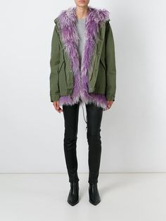 Mr & Mrs Italy Lamb Fur Lined Parka - Julian Fashion - Farfetch.com