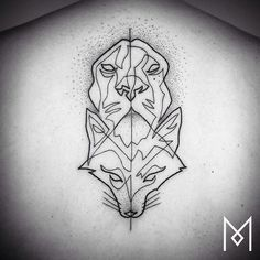Mo Ganji es un artista del tatuaje que destaca por plasmar diseños increíbles sin interrumpir la técnica, es decir, en un sólo trazo.
