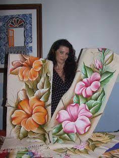 Resultado de imagen para pinterest tapete pintado com frutas