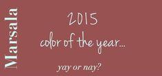 Pantone's 2015 color of the year is…marsala?? ‹ Juliana Isaac